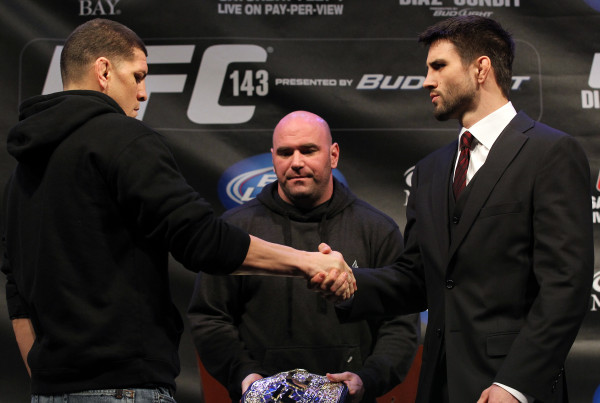 UFC 143: Diaz v Condit - Press Conference