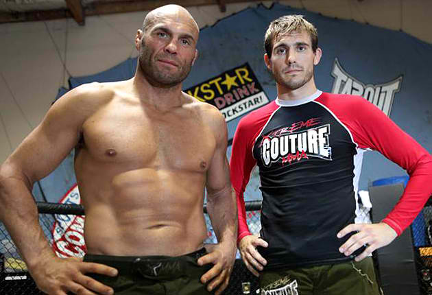 Hall Of Fame Heavyweight Randy Couture and his Son Lightweight Ryan Couture
