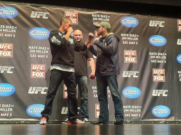 Nate Diaz vs Jim Miller