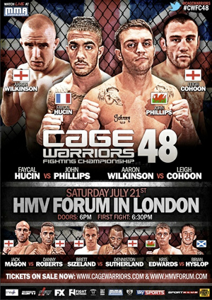 cage-warriors-48-poster