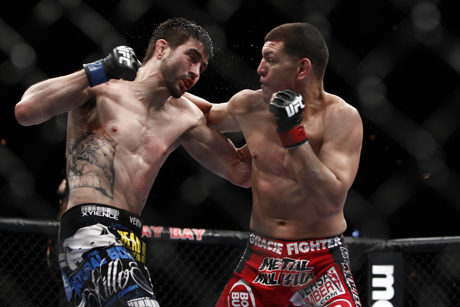 Nick Diaz vs Carlos Condit