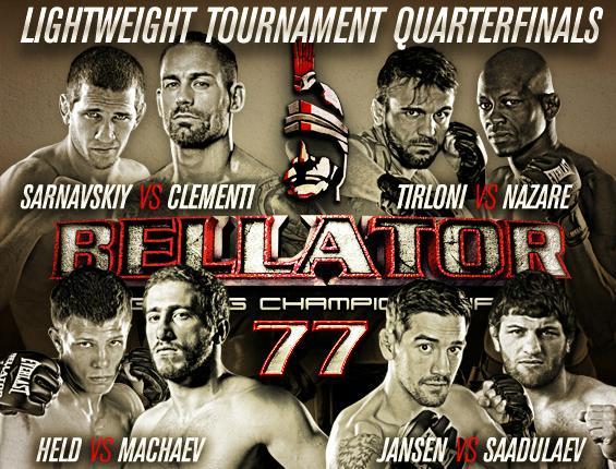 Bellator 77 Poster