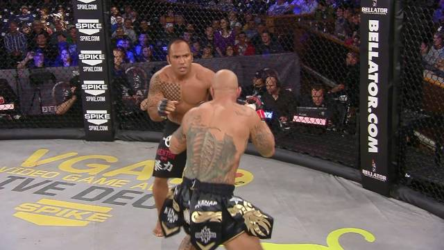 Bellator 82 Moment