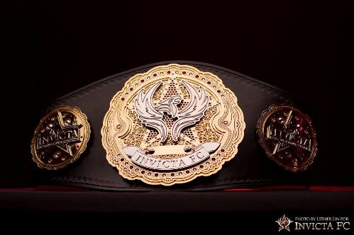 invictaFC4 belt