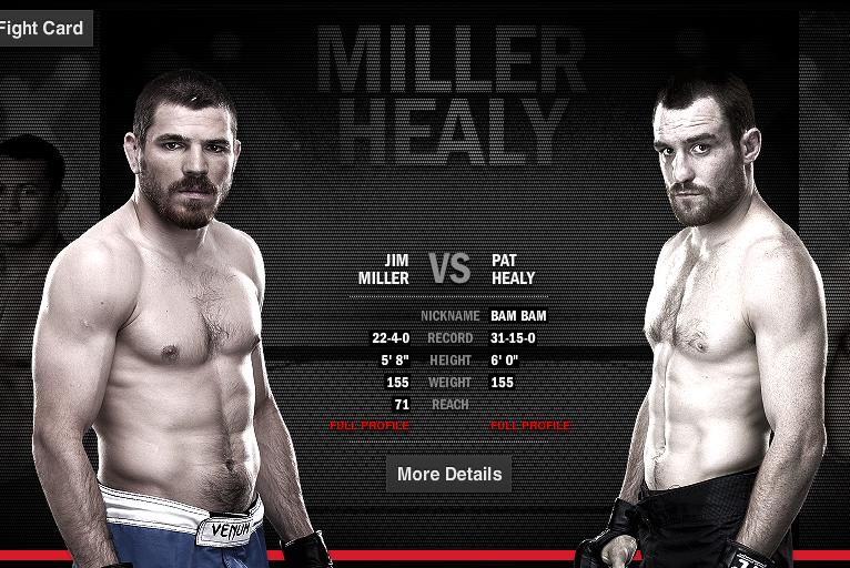 Miller vs Healy