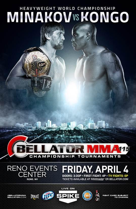 Bellator 115 Poster